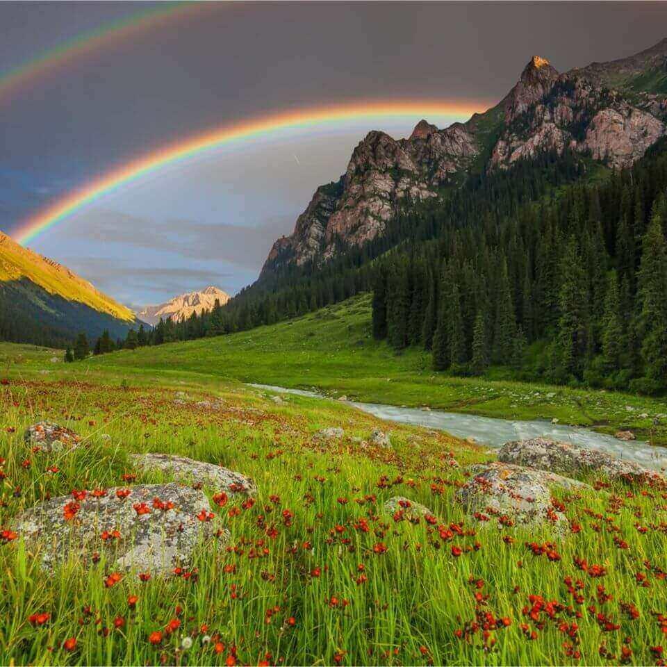 arcobaleno doppio