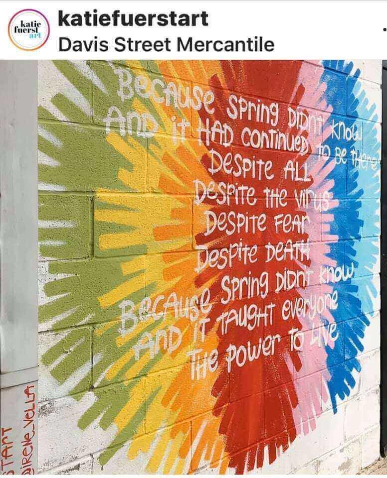 poesia irene vella street art