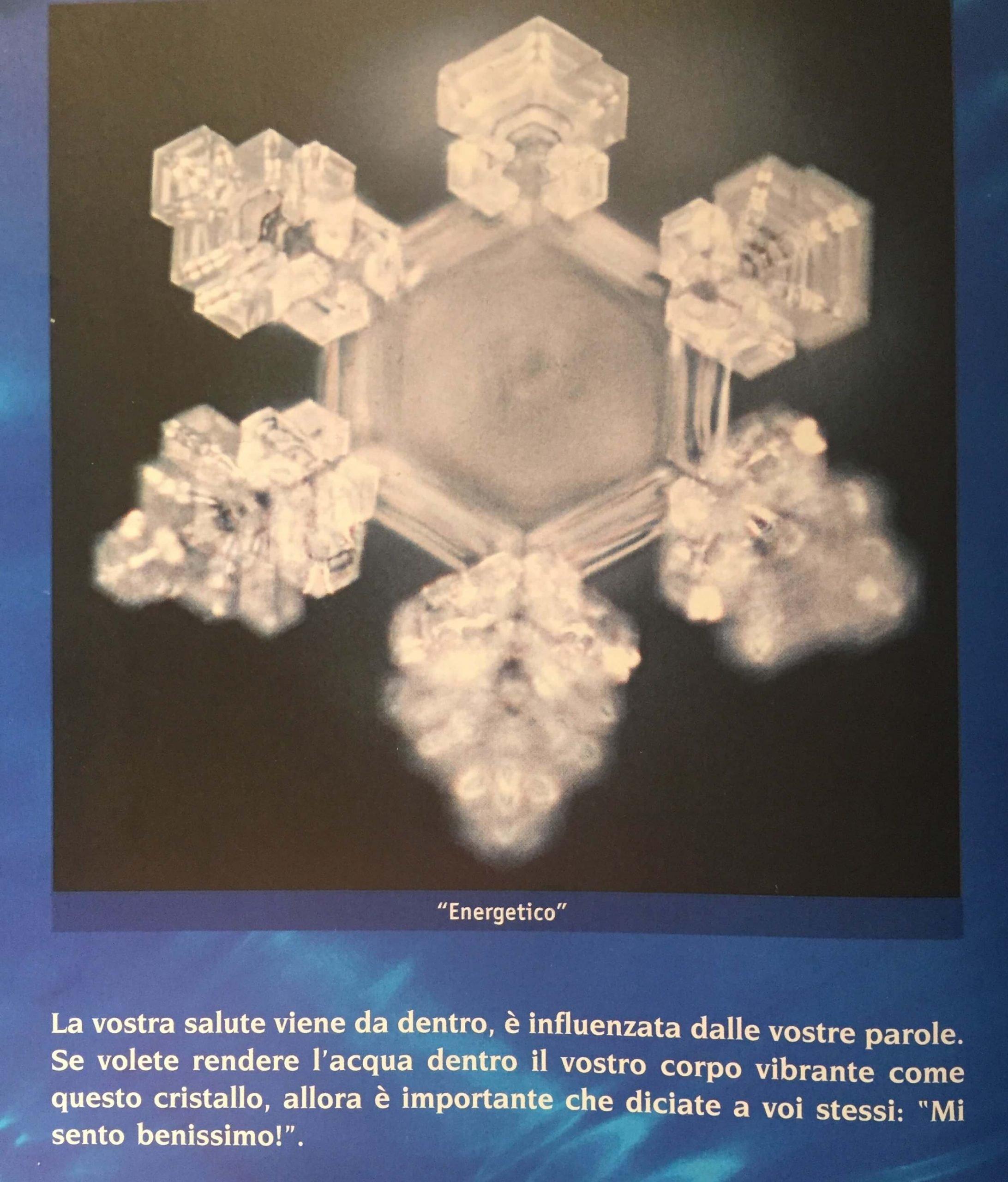 cristallo Emoto Energetico