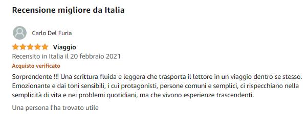 Recensione Carlo Del Furia Amazon