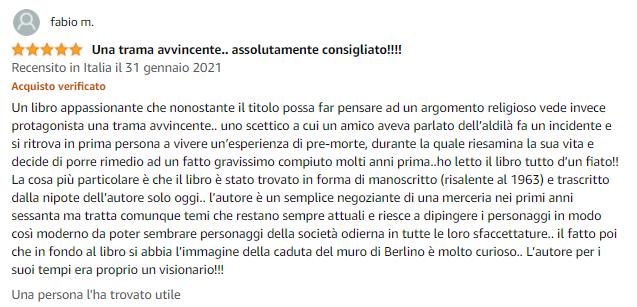 Recensione Fabio M. Amazon