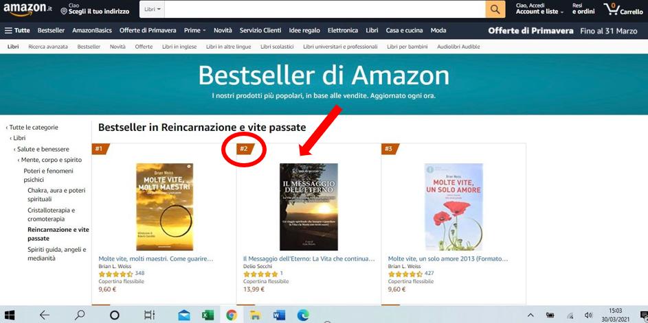 Bestseller Amazon Il Messaggio dell'Eterno